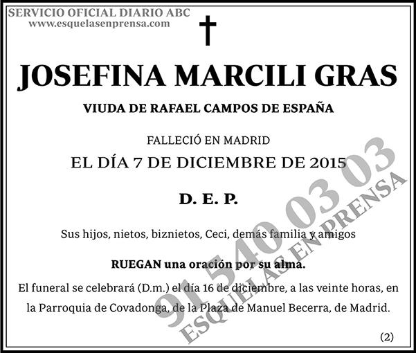 Josefina Marcili Gras